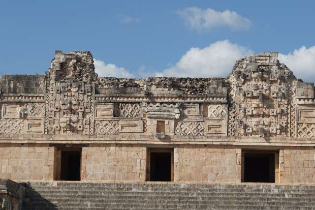 Ruines d'Uxmal, Mexique