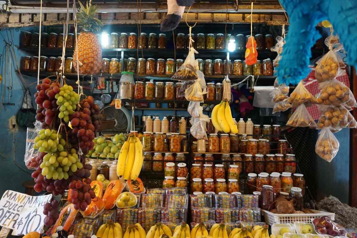 Fruits et légumes au marché de Campeche, Mexique
