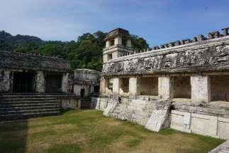 Ruines, Palenque, Mexique