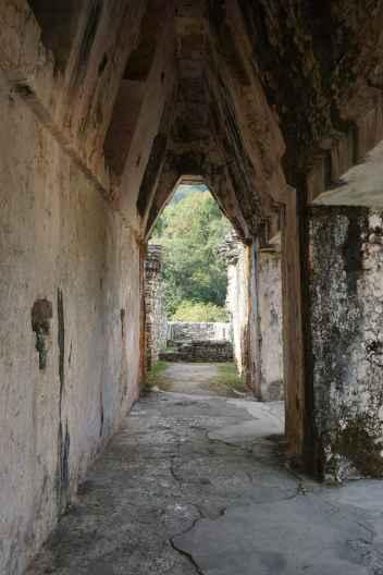 Couloir, Palenque, Mexique