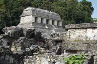 Vestiges, Palenque, Mexique