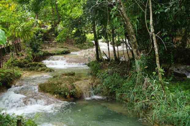 Agua Azul, Chiapas, Mexique