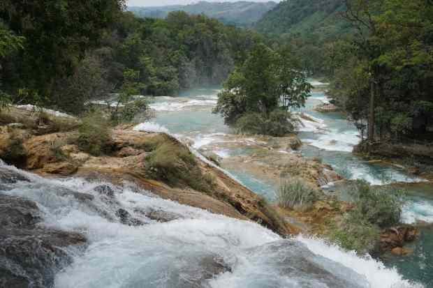 Mirador d'Agua Azul, Chiapas, Mexique
