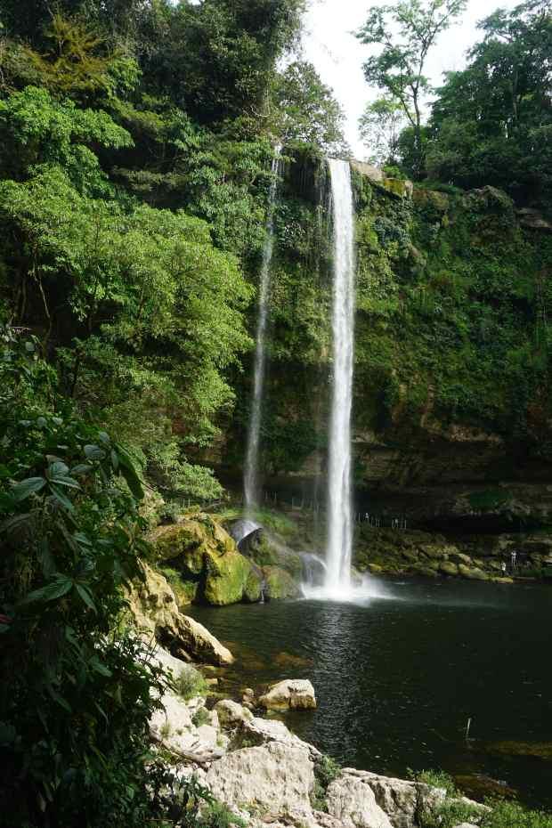 Cascade Misol-Ha, Mexique