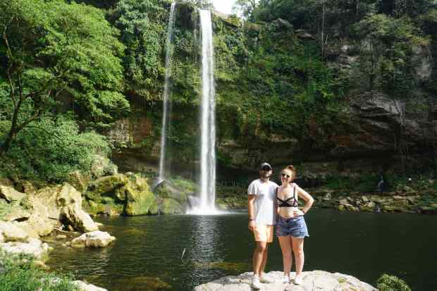 Misol-Ha waterfall, Mexico