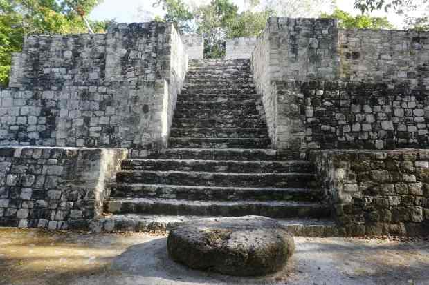 Ruines de Calakmul, Mexique