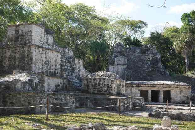 Zone archéologique de Muyil, Mexique