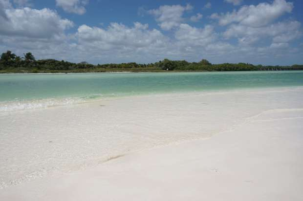 Plage, Sian Ka'an, Mexique