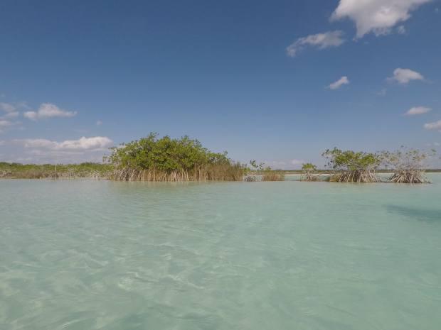 Bacalar laguna, Mexico