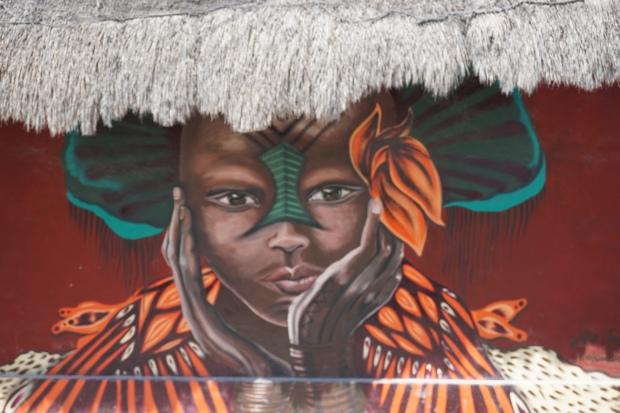 Art, Holbox, Mexique