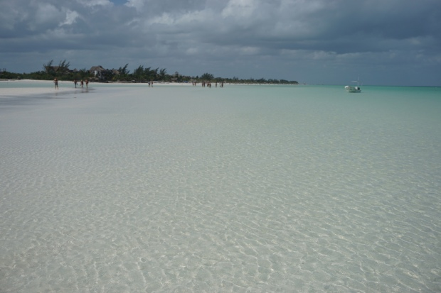 Playa mosquito, Holbox, Mexique