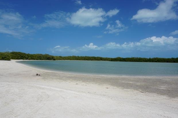 Punta cocos, Holbox, Mexique