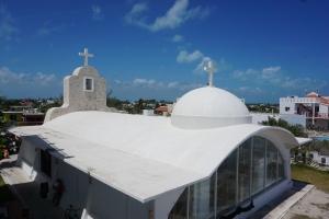 Eglise, Isla mujeres, Mexique
