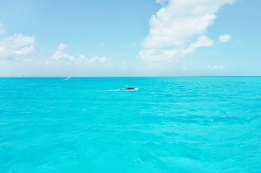 Eau transparente, Isla mujeres, Mexique