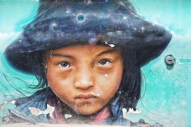 Street art, Holbox, Mexique
