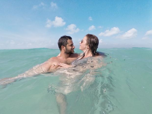 Plage, Isla mujeres, Mexique