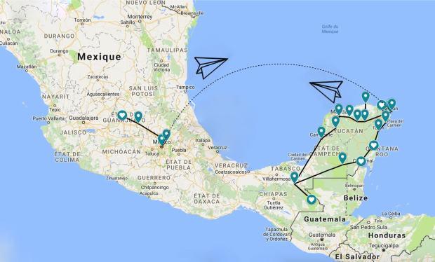 Circuit Mexique 3 semaines