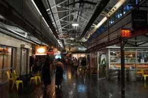 Chelsea Market ground floor, New York