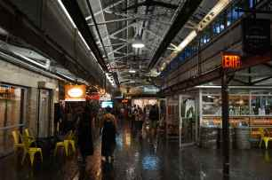 Chelsea Market ground floor, New York