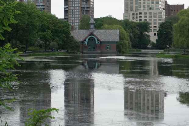Lac Central Park, New York