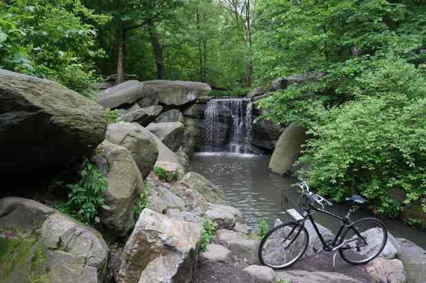 Bike, Central Park, New York