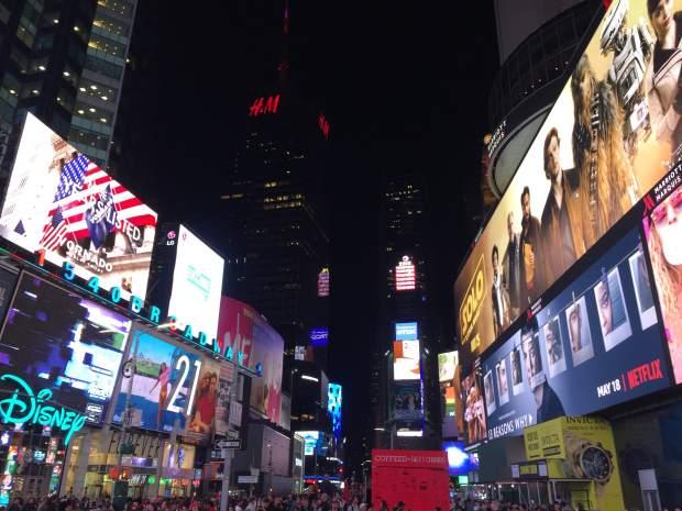 Place de Time Square, New York